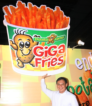 Q&A with Jose Magsaysay Jr., President of Potato Corner on Niche Marketing