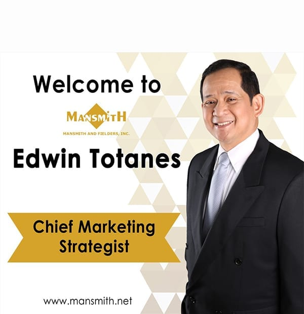 Edwin Totanes Joins Mansmith By Josiah Go