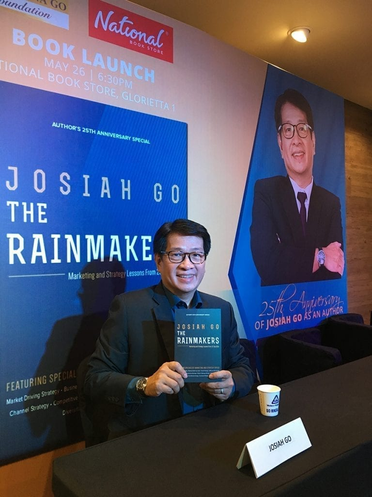 The Rainmakers: My 14th Book Launch by Josiah Go