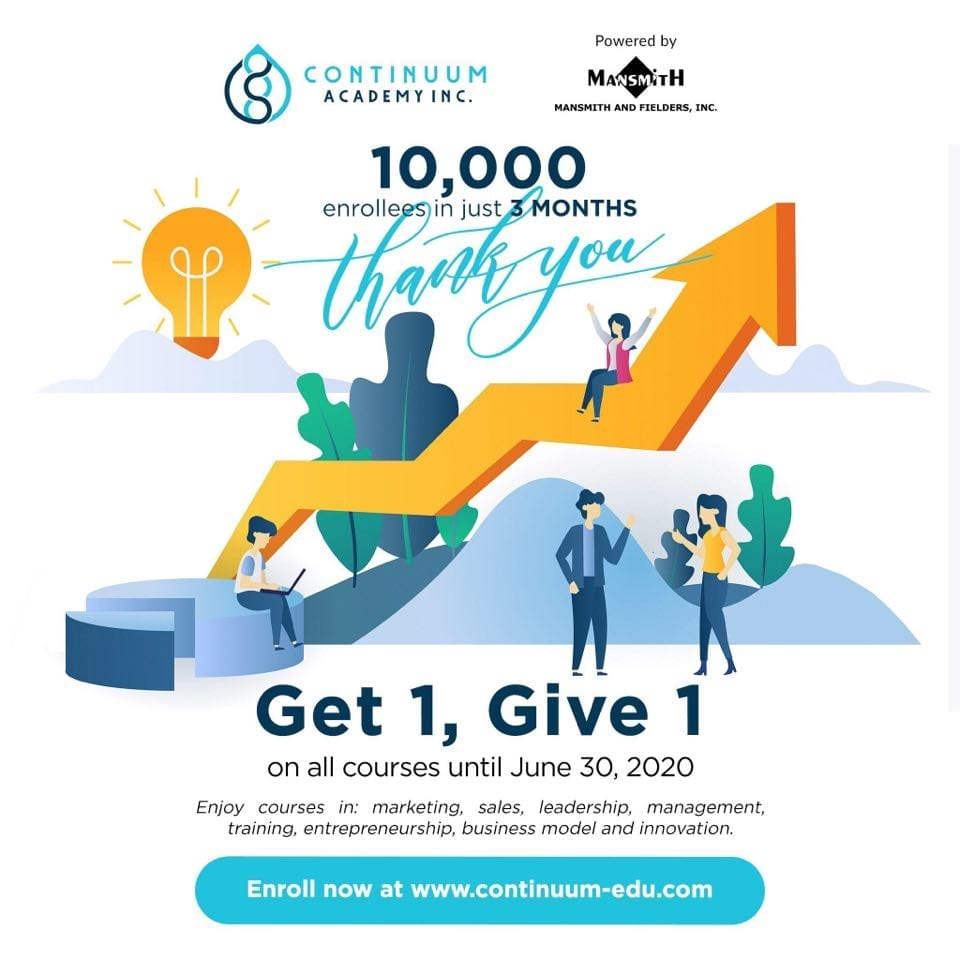 Continuum Offers Get 1, Give 1
