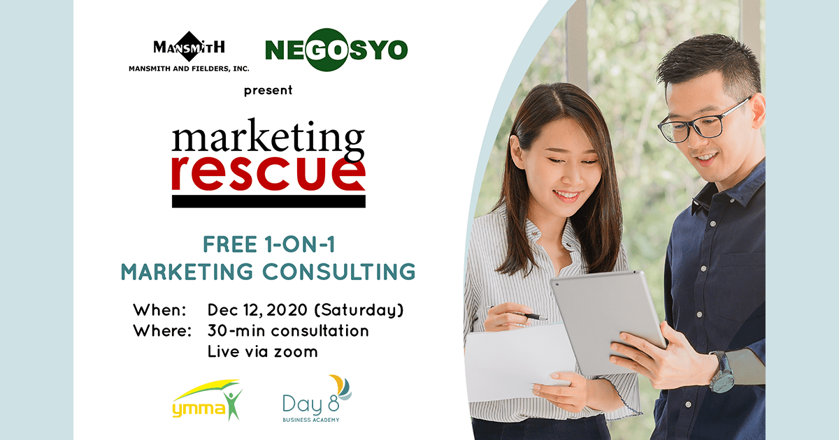 Mansmith Collaborates with Go Negosyo and YMMA Winners To Uplift SMEs
